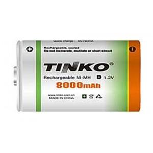 Batéria D (R20) nabíjacia TINKO NiMH 8000mAh
