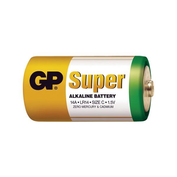 Batéria GP alkalická C fólia