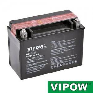 Batéria motocyklová 12V 13Ah VIPOW motobatéria