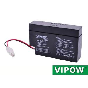 Batéria olovená 12V/ 0,8Ah VIPOW bezúdržbový akumulátor