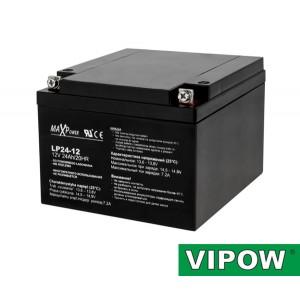 Batéria olovená 12V/24Ah VIPOW