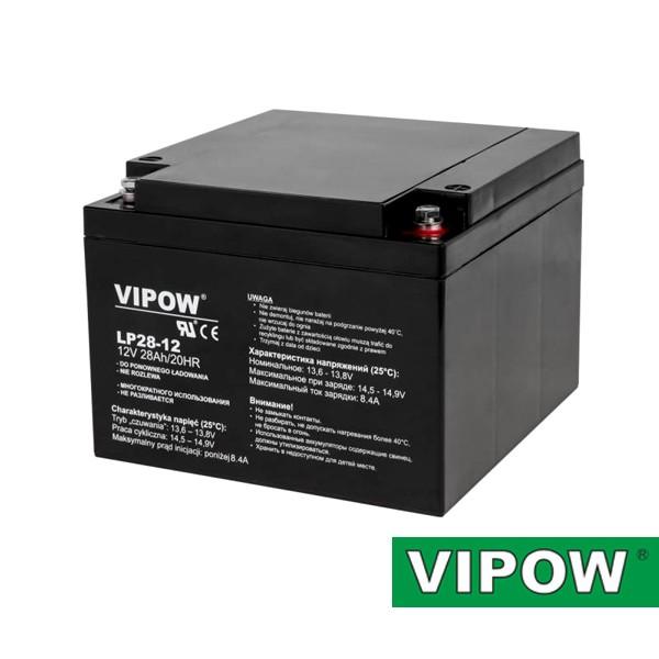 Batéria olovená 12V/28Ah VIPOW