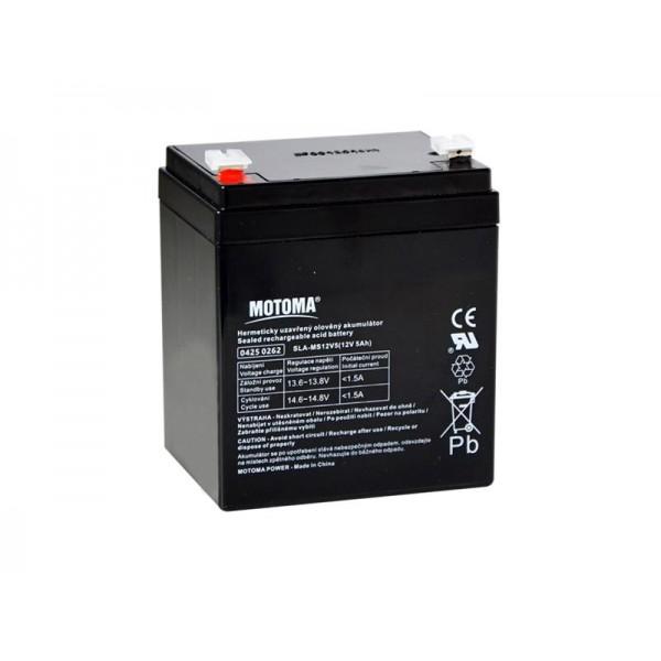 Batéria olovená 12V/ 5Ah MOTOMA