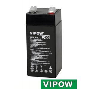 Batéria olovená 4V/4,9Ah VIPOW bezúdržbový akumulátor