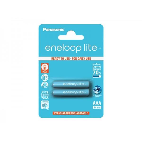 Batérie 4LCCE/2BE ENELOOP LITE AAA 2x PANASONIC nabíjacie
