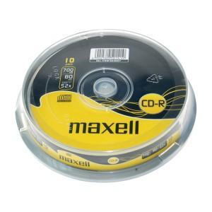 CD-R 700MB MAXELL 52x 10 ks