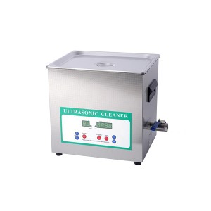 Čistička ultrazvuková ELASON 10L 28kHz digitálne RAZANTNÝ ČISTENIE