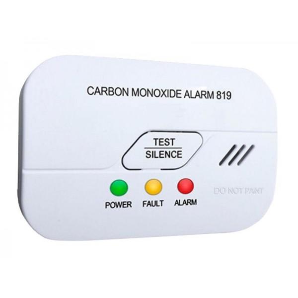 Detektor oxidu uhoľnatého CO-819 EN50291 BSI-Kitemark