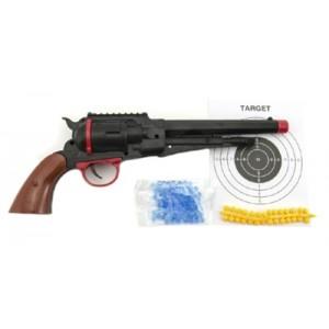 Detské pištole TEDDIES na mäkké a vodné guličky 33 cm