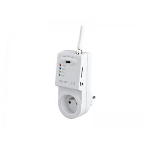 Diaľkovo ovládaná GSM zásuvka TS11 GSM