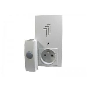 Domový bezdrôtový zvonček Kangtai do zás. 230V AC, DING-DONG