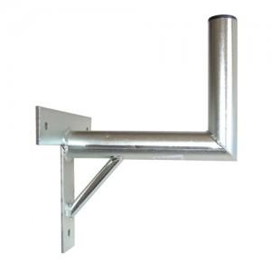 Držiak antén na stenu 25 s krížom a podperou priemer 42mm