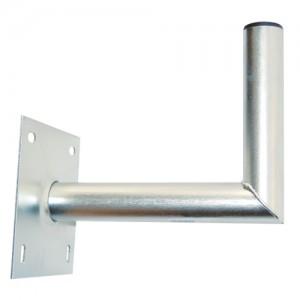 Držiak antén na stenu 25 s platňou 16x16cm priemer 42mm žiar.