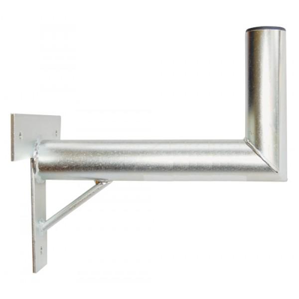 Držiak antén na stenu 35 s krížom a podperou priemer 42mm žiar.