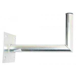 Držiak antén na stenu 35 s platňou 16x16cm priemer 42mm žiar.