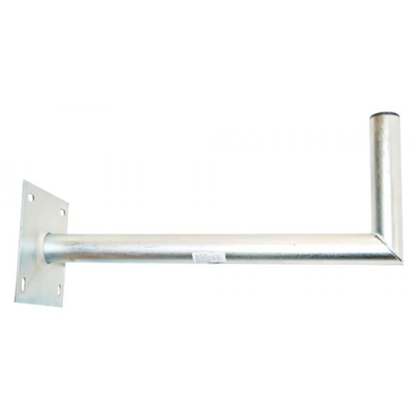 Držiak antén na stenu 50 s platňou 16x16cm priemer 42mm žiar.