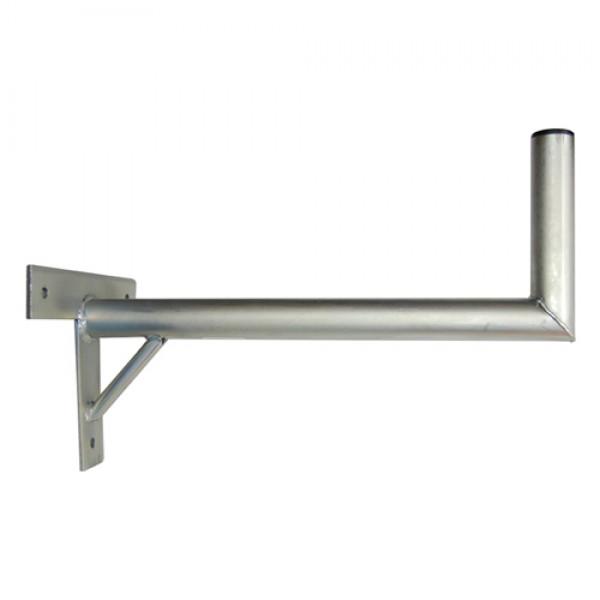 Držiak antén na stenu 60 s krížom a podperou priemer 42mm