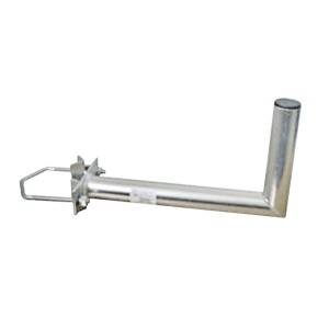 Držiak antén na stožiar 25 s vinklom rozteč strmeňa 150mm priemer 42mm