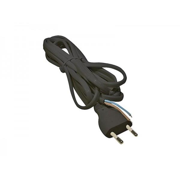 Flexo šnúra PVC 2x0,75mm 5m čierna