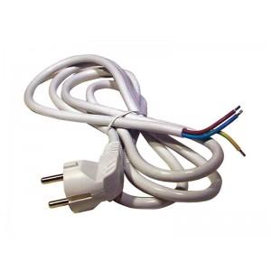 Flexo šnúra PVC 3x1,0mm 2m biela