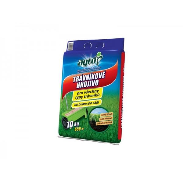 Hnojivo trávnikové AGRO 10kg
