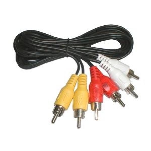 Kábel 3xCINCH - 3xCINCH 1.5m