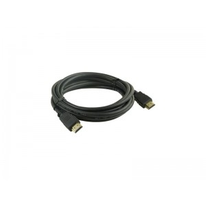 Kábel HDMI Geti 3 m pozlátený, 4K, ethernet 2.0