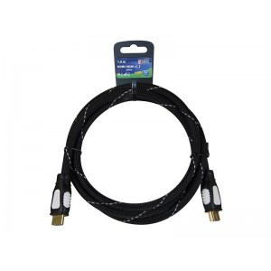 Kabel HDMI-HDMI 1,5M NYLON ECO