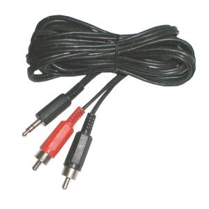 Kábel Jack 3.5 stereo - 2 x CINCH konektor 1,5m