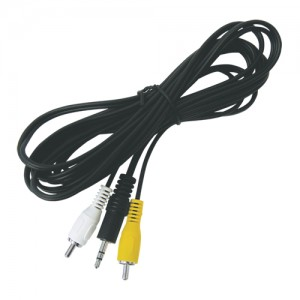 Kábel Jack 3.5 stereo - 2 x CINCH konektor 3,0m