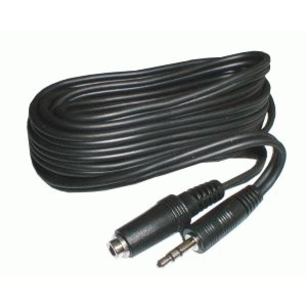 Kábel Jack 3.5 stereo - zásuvka Jack 3.5 stereo 3m