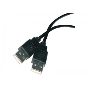 Kábel USB 2.0 A konektor - A konektor 2m