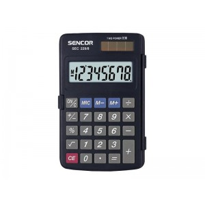 Kalkulačka vrecková SENCOR SEC 229 8 DUAL
