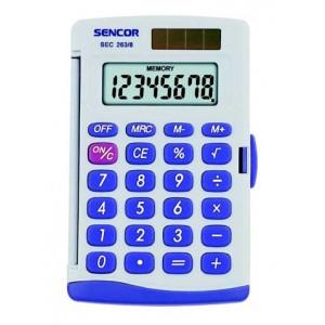 Kalkulačka vrecková SENCOR SEC 263 8 DUAL