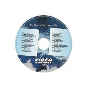 Karaoke DVD PESNIČKY PRE DETI