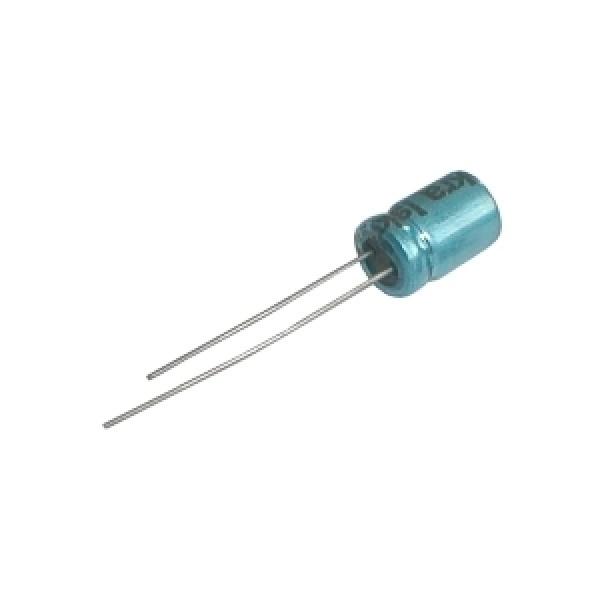 Kondenzátor elektrolytický 150M 16V 8x12-3.5 rad.C