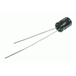 Kondenzátor elektrolytický NP 100M 100V 16x32-7 Jam.NK