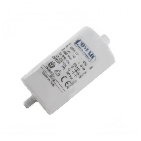 Kondenzátor rozbehový CFR 18uF/450Vac COM-MKA kábel