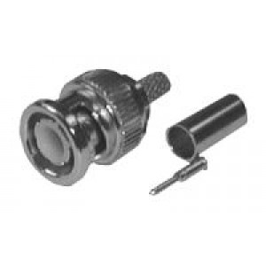 Konektor BNC crimp 5mm (RG58)