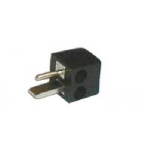 Konektor repro skrutkovací priamy černý