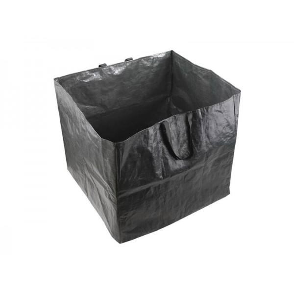 Kôš na lístie a záhradný odpad, 60x60x55cm, 198l, 2 držadlá, PE, EXTOL CRAFT