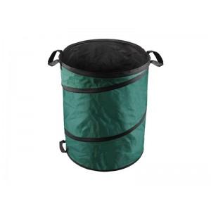 Koš skladací na lístie a záhradný odpad, 55x72cm, 170L, 3 držadlá, PE, EXTOL CRAFT