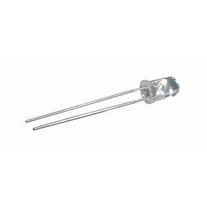 LED 5mm žltá 1200mcd 120° číra Dopredaj