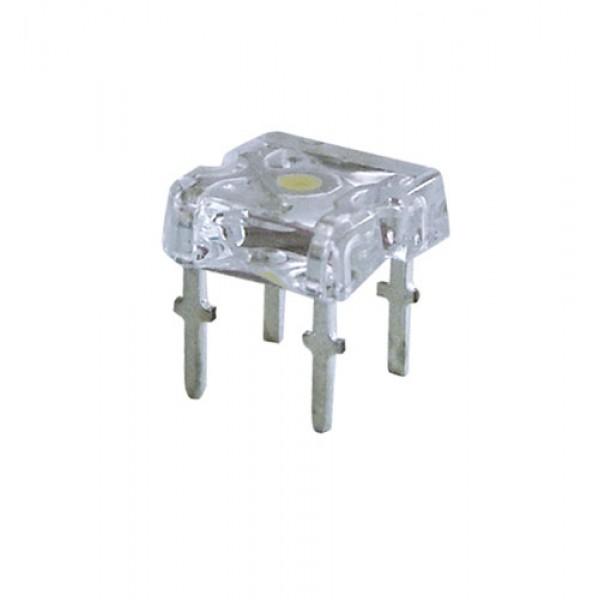 LED auto biela 1200mcd/120°