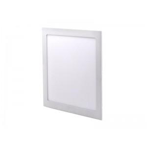 LED mini panel, podhľadový, 24W, 1800lm, 4000K, tenký, štvorcový, biely WD126 SOLIGHT