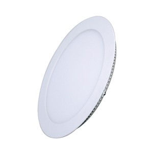LED mini panel podhľadový 6W, 400lm, 4000K, tenký, okrúhly, biely WD102 Solight