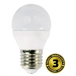 LED žiarovka, miniglobe, 6W, E27, 4000K, 420lm