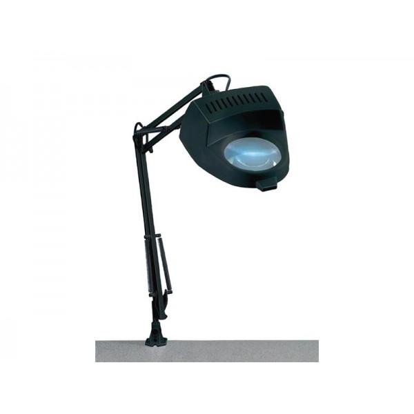 Lupa stolná guľatá (svorka), 4diop žiarovka 60W/E27