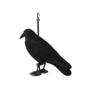 Maketa havrana plastová - havran - odpudzovač vtákov