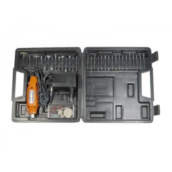 Minivrtačka KMD02-60 12V 12000 otáčok s veľkým príslušenstvom